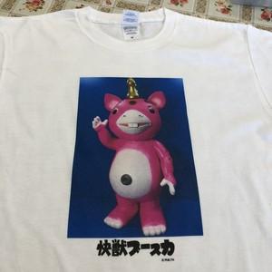 快獣ブースカ Tシャツ(ジャイアント・ピンク色)【即納可】