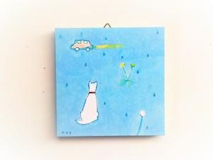 ※再販可能 アートパネル 「雨の音君のにおい」