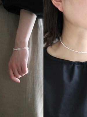 Tiny pearl / Two-ways accessories