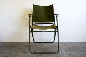 BRITISH ARMY LAND ROVER CHAIR  (5)