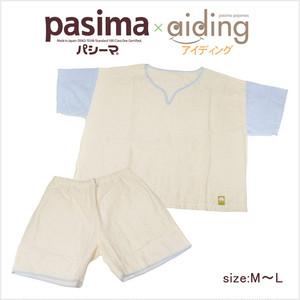 【送料無料】アイディング(aiding) パシーマの新夏用アイディングパジャマ(半そで)