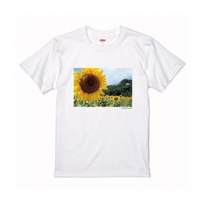 【寄付対象】【CHIKUGO百景】原鶴杷木のひまわりTシャツ(送料無料)