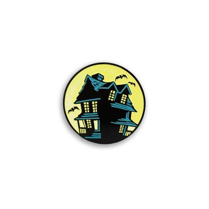 "Creepy Co.""BEISTLE® HAUNTED HOUSE ENAMEL PIN"""