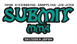 SUBMIT MMAメインロゴ ステッカー