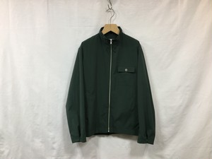 UNIVERSAL PRODUCTS NYLON BLOUSON D.GREEN""