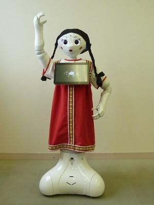 ロボット☆ファッション☆民族衣装☆ロシア服☆Pepper向け PSRF17-001
