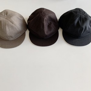 SUIT FABRIC LITTLE BRIM CAP | COMESANDGOES