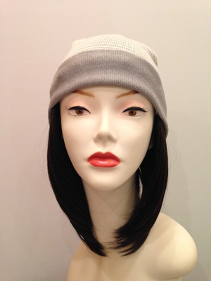 プレゼントに喜ばれる ふわふわシルクの「リラックス帽子」 AQUA GLAY