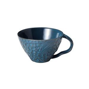 「リアン Lien」スープカップ 直径約12cm 330ml ブルー 美濃焼 267829