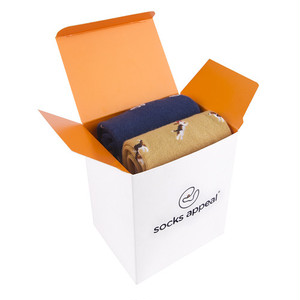 GIFT BOX WHITE(FOR 2 PAIR)