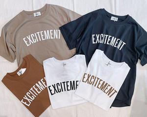 siro(シロ) EXCITEMENT t-shirt  2021春物新作