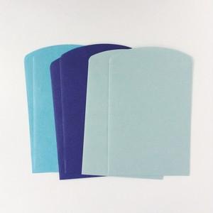 ペロンチョベロの紙袋 空色MIX