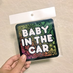 オリジナルステッカー(BABY IN THE CAR)