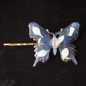 Butterfly Hairpin (BLUE)