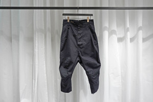 Marc Point / DROP CROTCH CROPPED PANTS  / D.NAVY