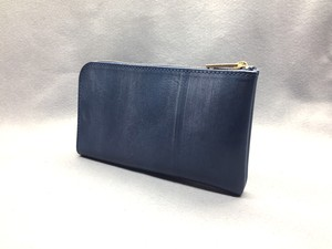 SHOZO wallet (bridle leather): Navy