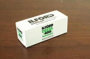 【モノクロネガフィルム 120 ブローニー】ILFORD(イルフォード) DELTA400