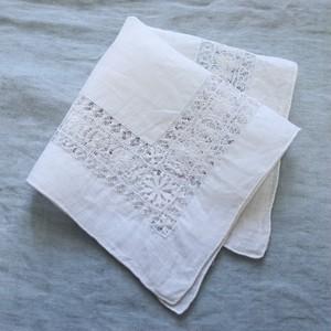 Vintage Embroidered Handkerchief 003・ヴィンテージ 刺繍ハンカチ 003 U.S.A