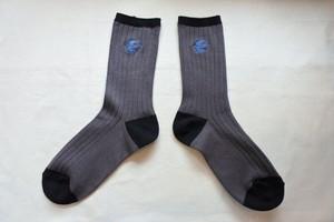 靴下・Blue bird(松尾ミユキ)