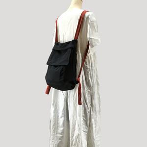 Black Three Handbag Casual Shoulder Message Bag Canvas Bag (YYB99-8791032)