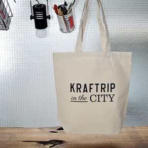 KRAFTRIP IN THE CITY ロゴ トートバッグ