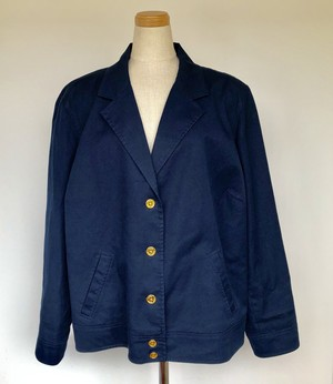 Ralph Lauren Navy Cotton Jacket