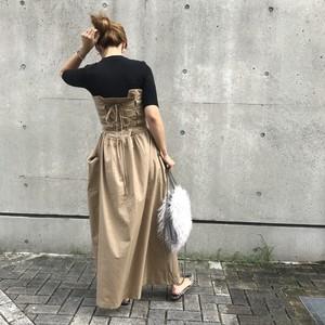 【予約】ベアトップワンピース