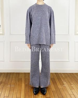 [送料無料] BED&BREAKFAST(ベッドアンドブレックファースト)Silk Nep Wool トップス  2020秋冬物新作