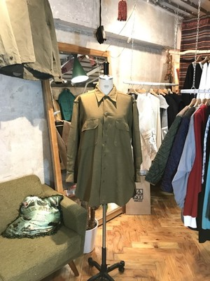 40's U.S.ARMY WWⅡ MUSTARD SHIRT