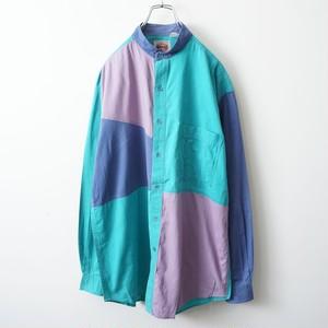 WHAKS switched no-collar shirt 1969