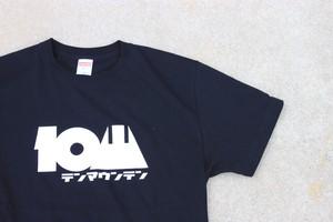 10山 / テンマウンテン コットンT ブラック