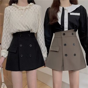 trench fake skirt 2color