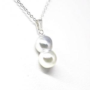 【希少!】あこや本真珠のツインパールネックレスQ