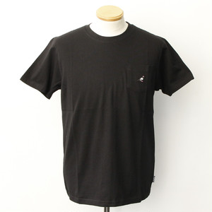 MINI LOGO POCKET TEE (BLACK)