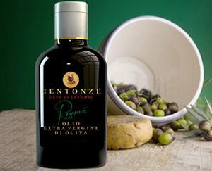 直輸入 有機オリーブオイル Centonze イタリア産 Bottiglia 瓶 250ml