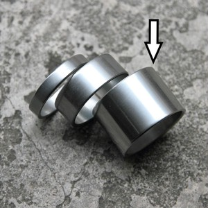 *NITTO* cr-mo spacer 1-1/8 (dull/20mm)