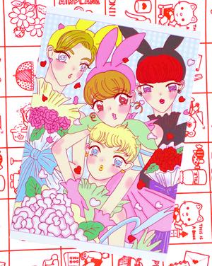 MIKAKO×Chinmai ♡『みみたんシリーズ』ポストカード