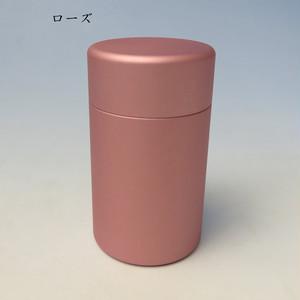 ミニ骨壷With(ウィズ)35 直径35mm×高60mm ローズ【日本製】
