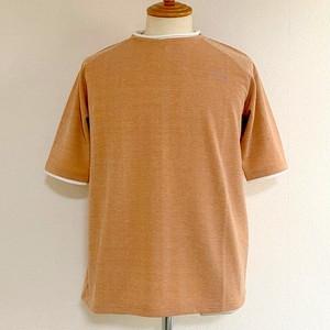 Moku Slab Stretch Role Crew Neck T(Half Sleeve) Orange Moku