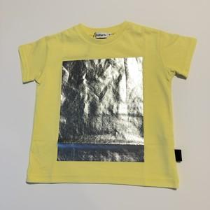 【21SS】フランキーグロウ ( frankygrow ) SQUARE PRINT TEE[ S / M / L ]Yellow Tシャツ トップス