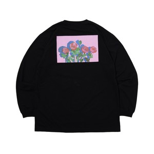 Rose LS Tee BLACK