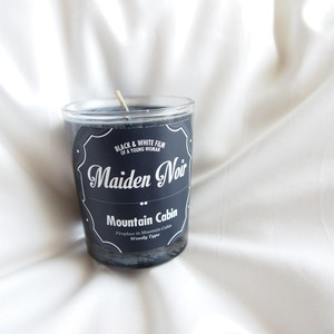 Maiden Noir Candle // Mountain Cabin  (Woody) S