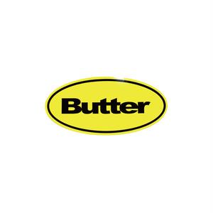 BUTTER GOODS BADGE LOGO STICKER