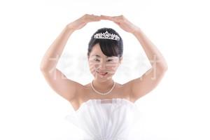 【0197】ポーズを取る花嫁
