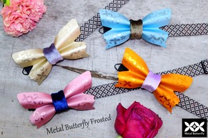 "Metal Butterfly ""Frosted"" ~Ecru Gold~<先行予約SALE!!>"