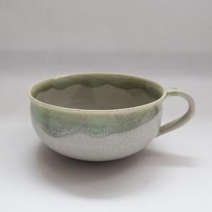 poetoria (種田ゆか)スープカップ緑