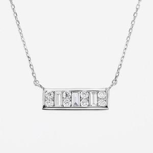 Aya K18WG Diamond Pendant Necklace(ダイヤモンド ペンダントネックレス)