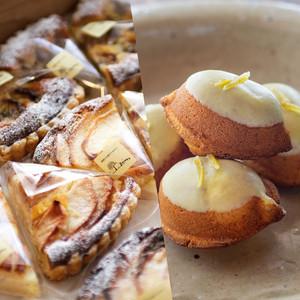 季節のタルト 4個セット + レモンケーキ 6個セット