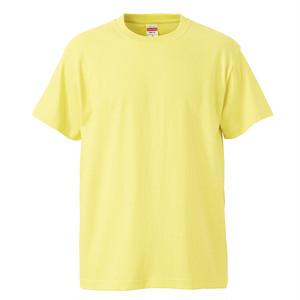 プリント用Tシャツ(半袖)黄 S~XL