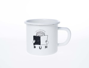ヒラメキ ホーローマグカップ
